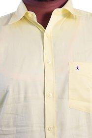 Men's Casual - Yellow Full sleeve Shirt