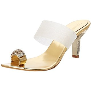 Catwalk Women's Gold Heels