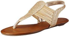 Catwalk Women's Gold Sandals
