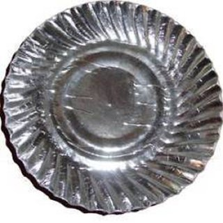Silver paper plates/100  sc 1 st  Shopclues & Silver paper plates/100: Buy Silver paper plates/100 Online at best ...
