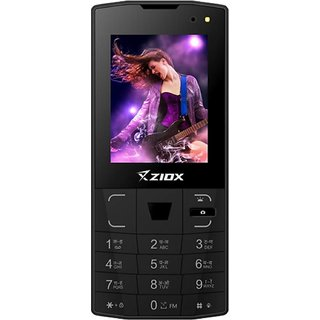 ZIOX ZELFIE(2.40-inch display,1800mAh bettery,dual sim, led flash camera,FM)