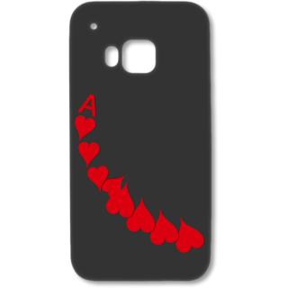 HTC One M9 Designer Hard-Plastic Phone Cover from Print Opera - A Of Heart