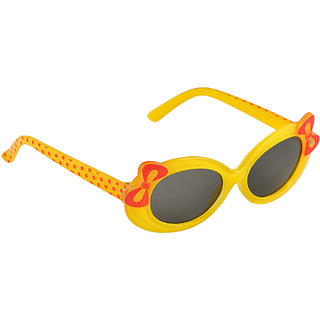 Stol'N Yellow UV Protection Oval  Sunglass