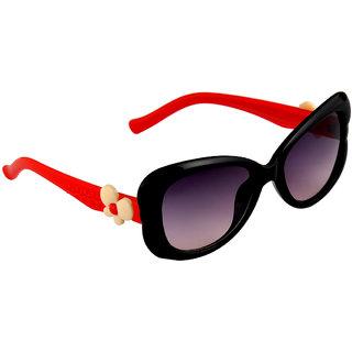 Stol'N Black UV Protection Wrap-Around  Sunglass