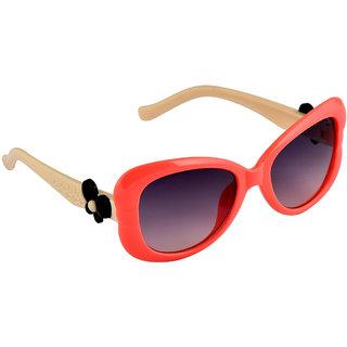Stol'N Orange UV Protection Wrap-Around  Sunglass