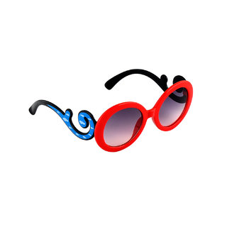 Stol'N Red UV Protection Round  Sunglass