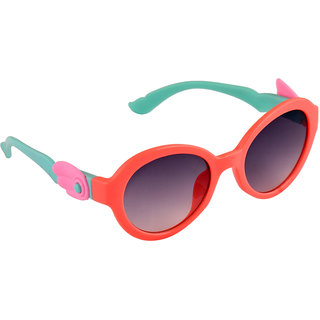 Stol'N Orange UV Protection Round  Sunglass