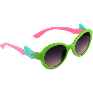 Stol'N Green UV Protection Round  Sunglass