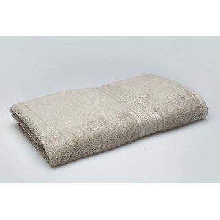 Beige Bamboo Organic Cotton Bath Towel (Bath Towel)