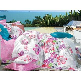 Multi Colour Multi Colour Sateen Bedlinen (Comforter (Double))