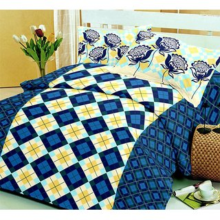 Multi Colour Double Bedsheet Sets (Bedsheet (Double))