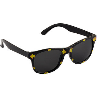 Stol'N Black UV Protection Wayfarer  Sunglass
