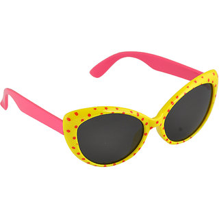 Stol'N Yellow UV Protection Cat-Eye  Sunglass