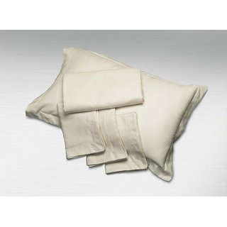 Ivory Solid Pillow Covers (Pillow Cover (2 Pc Set))