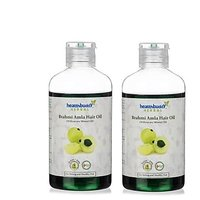 Healthbuddy Herbal Brahmi Amla Hair Oil 2 Packs Of 200 Ml Each