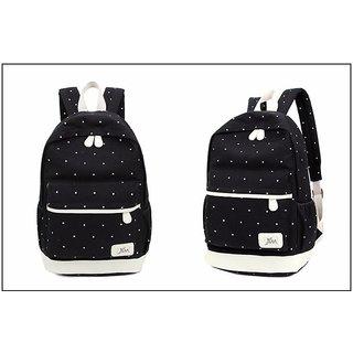 84a55a54faa Aeoss Women School Bag College Wind Women's Backpack Canvas Fashion Bag Set  of 3 Bag