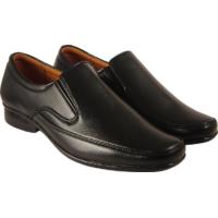 Action Synergy Men's PL4492 Black Formal Shoes