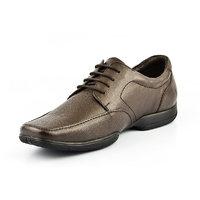 Lee Copper Men's Brown Lace-up Formal Shoes