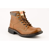 Lee Cooper Men's Tan Lace-up Casual Shoes - 102207500