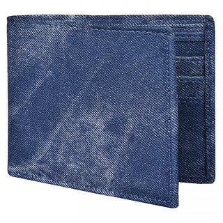 ADESCO Regular Wallet for Men Blue