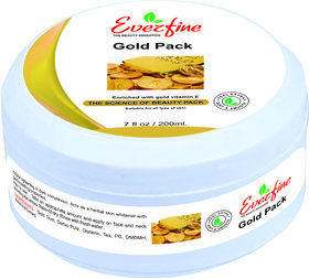 Everfine Gold Glowing Face Pack 200Ml