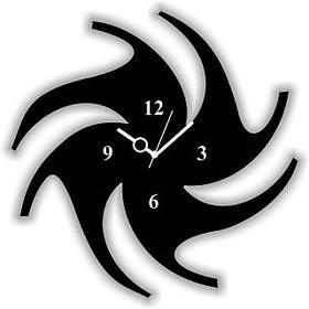 WALL CLOCK CHAKRI SHAPE SIZE 9 INCH