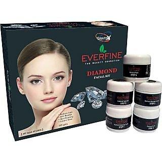 Everfine Diamond Fairness Facial Kit 185Gm