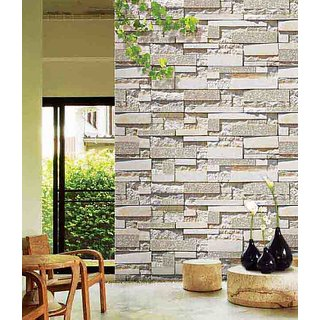 Siddhi Decorators White Tile Wallpaper