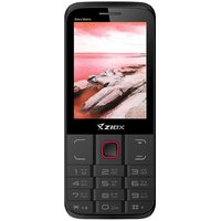 Ziox Star Matrix Dual SIM Feature Phone (Black-Red)