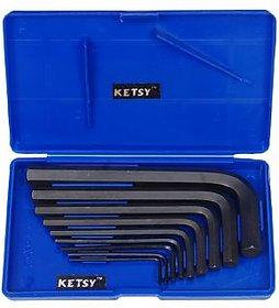 Ketsy 816 CRV Allen Key Set of 9 Pcs.