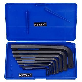 Ketsy 816 CRV Allen Key Set of 9 Pcs.
