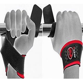Rdx Gym Strap Leather Black