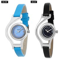 DCH Round Dial Multi Analog Watch Combos For Women-WCL-2,9