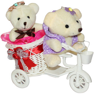 Buy Anishop Gift Cycle Couple Teddy Romantic Love Valentine Day Gift