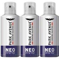 Park Avenue Neo Signature Buy 2 Get 1 Free Combo Deodorant Spray  -  For Men (130 Ml)
