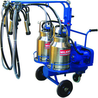 Milkwell Double Milker Portable Milking Machine