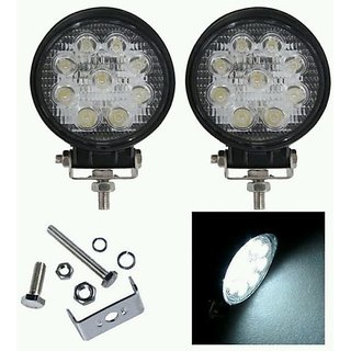 9 LED SUPER BRIGHT 27W FOG LAMP LIGHT DRL FOR