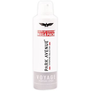 Park Avenue Voyage Super saver Mega Pack Deodorant Spray - For Men (220 ml)