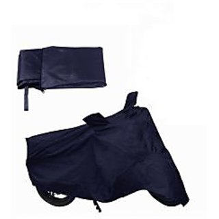 Bike Cover For TVS Scooty Zest 110 (Blue).