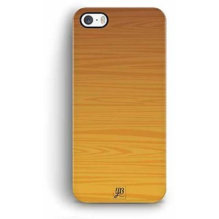 YuBingo Wood Finish (Plastic) Designer Mobile Case Back Cover for Apple iPhone 5 / 5S / SE