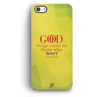 YuBingo Go out and Run Designer Mobile Case Back Cover for Apple iPhone 5 / 5S / SE