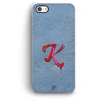 YuBingo Monogram with Beautifully Written Paint Finish letter K Designer Mobile Case Back Cover for Apple iPhone 5 / 5S / SE