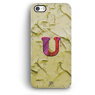 Buy Yubingo Monogram With Beautifully Written Funky Colourful Paint Finish Letter U Designer Mobile Case Back Cover For Apple Iphone 5 5s Se Online 549 From Shopclues