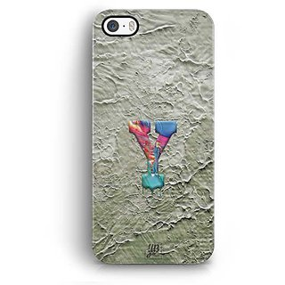 YuBingo Monogram with Beautifully Written Funky Colourful Paint Finish letter Y Designer Mobile Case Back Cover for Apple iPhone 5 / 5S / SE