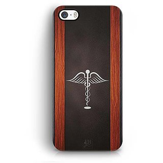 YuBingo Doctor Symbol Designer Mobile Case Back Cover for Apple iPhone 5 / 5S / SE