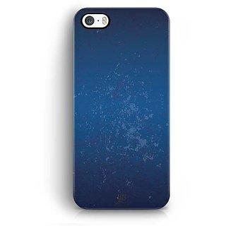 YuBingo Funky Blue Designer Mobile Case Back Cover for Apple iPhone 5 / 5S / SE