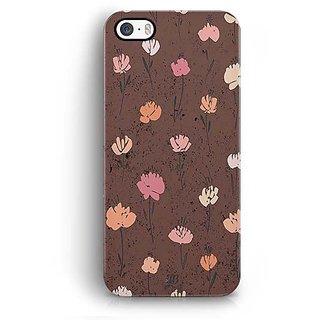 YuBingo Flowers pattern Designer Mobile Case Back Cover for Apple iPhone 5 / 5S / SE