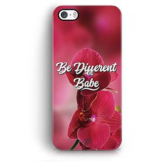 YuBingo Be Different Babe Designer Mobile Case Back Cover for Apple iPhone 5 / 5S / SE