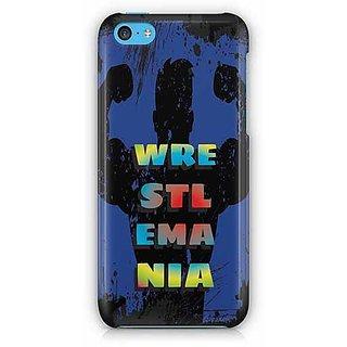 YuBingo Wrestlemania Designer Mobile Case Back Cover for Apple iPhone 5C