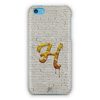 YuBingo Monogram With Beautifully Written Paint Finish Letter H Designer Mobile Case Back Cover For Apple IPhone 5C